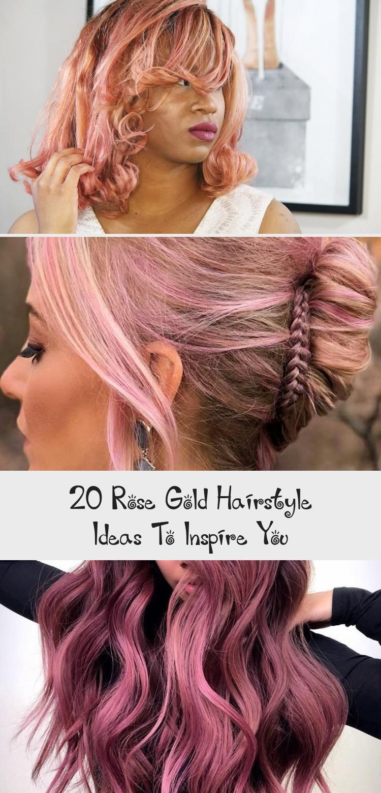 Photo of 20 Roségold-Frisuren, die Sie inspirieren – Lina's Blog – Die 20 Roségold-Frisuren …