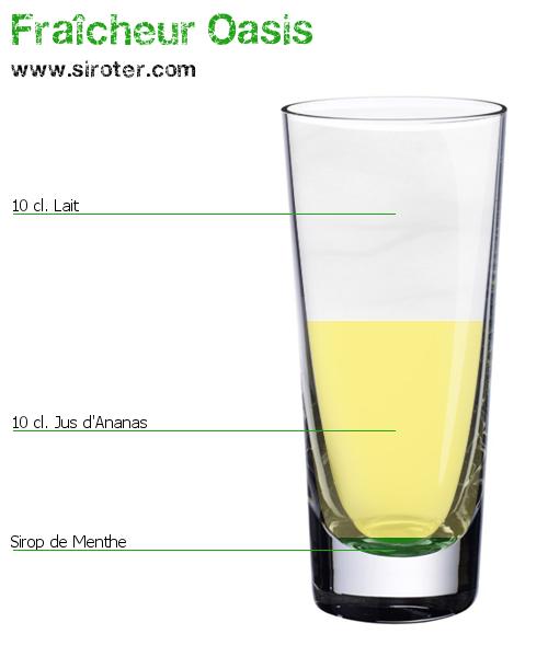 Bevorzugt Cocktail Fraîcheur oasis (sans alcool) | COCKTAIL/APERITIF  GX11
