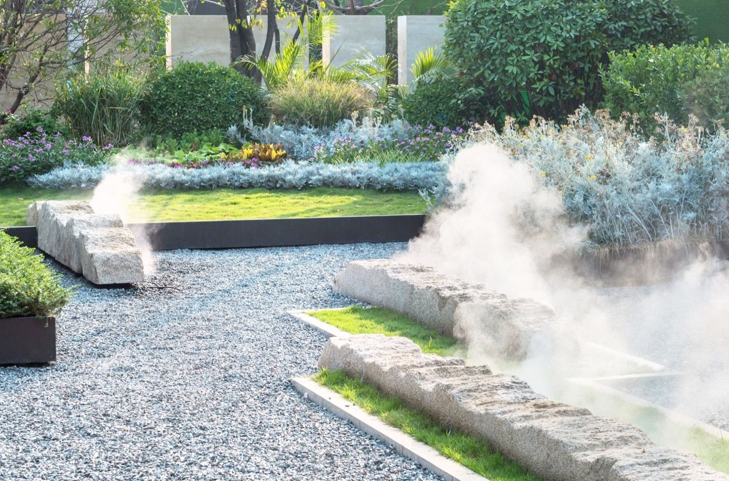 Landscape Gardening How Much Does It Cost Any Modern Commercial Landscape Design Than Modern Landsca Landscape Design Landscape Design Plans Modern Landscaping