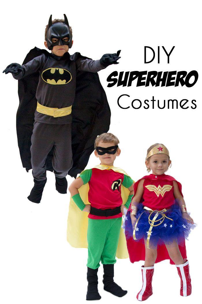 DIY Superhero Costumes #mamp;mcostumediy