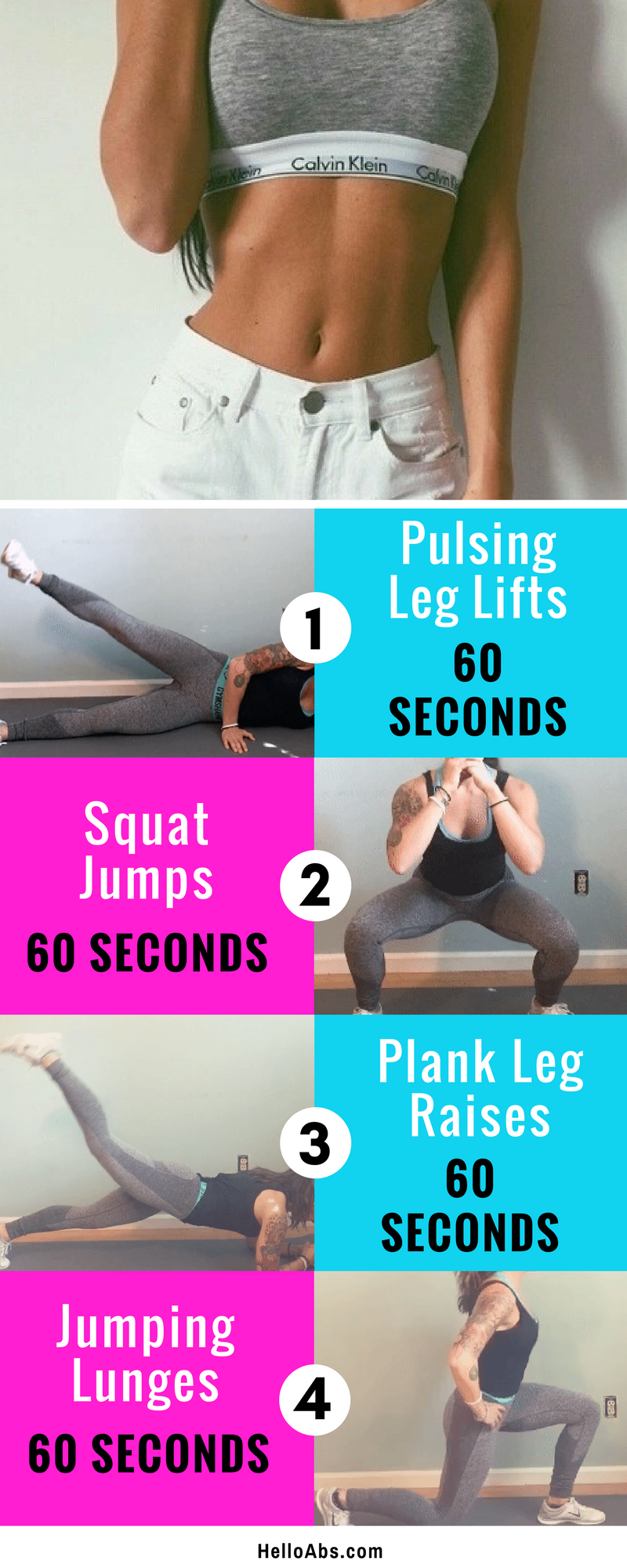 4 Exercises To Lose Belly Fat In 1 Week Health Belly Fat Workout