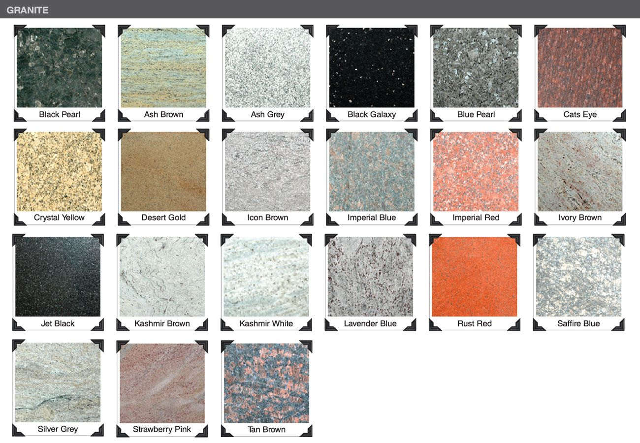 What Kinds Of Granite Finishes Are There Yeyang Stone