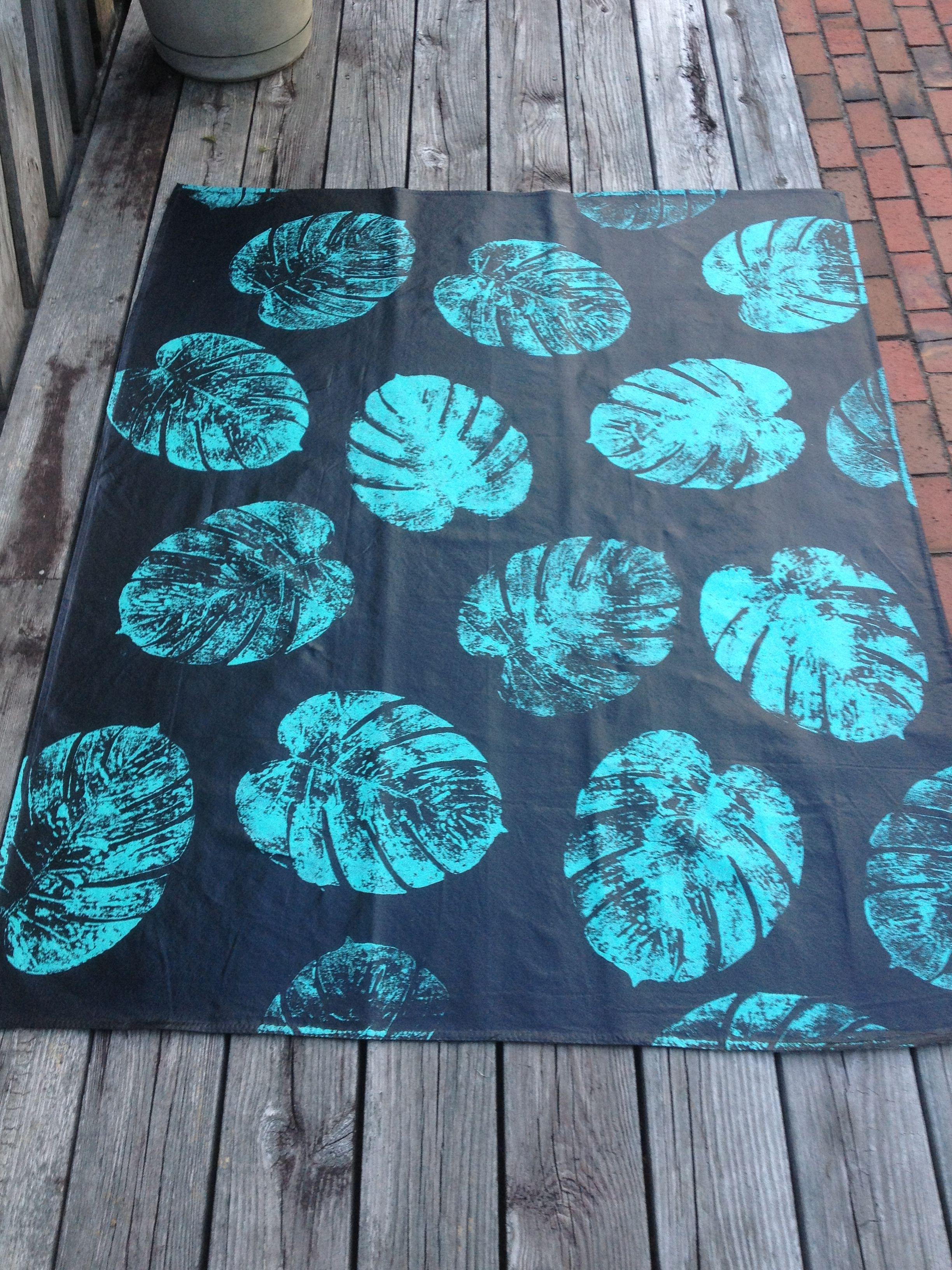 Painted Canvas Drop Cloth Rug Project Ideas Drop
