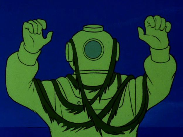 Ghost Of Captain Cutler Community Post The Definitive Ranking Of All 29 Villains From Scooby Doo Mystery Incorporated Scooby Doo Tattoo Scooby Doo Halloween