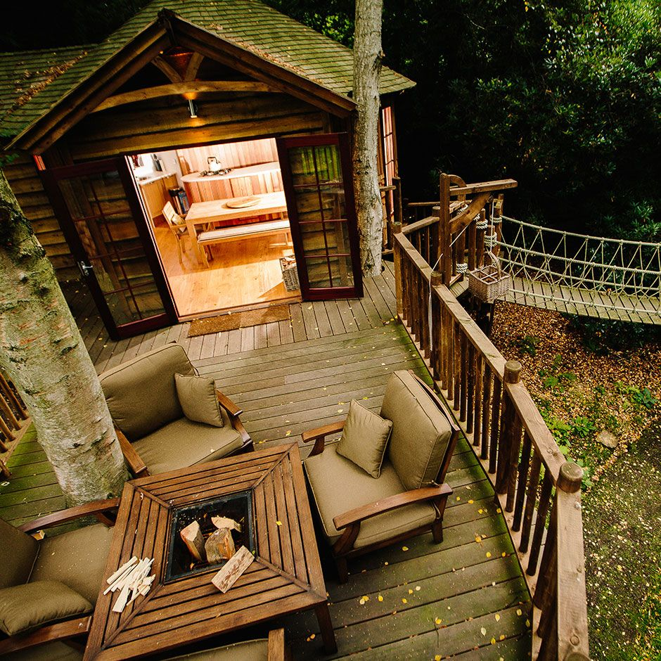 Luxury Tree Houses Designs: Blue Forest Are Renowned Experts In Luxury Treehouses And