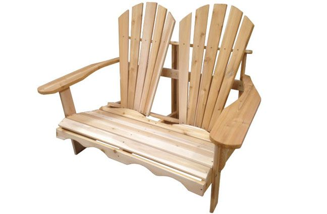 Marvelous Two Seater Adirondack Double Chair Chaise Adirondack Bralicious Painted Fabric Chair Ideas Braliciousco