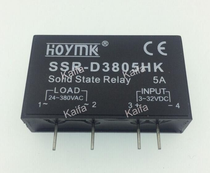 Pcb Dedicated With Pins Ssr D3805hk 5a Dc Ac Solid State Relay Ssr D3805hk Electrical Equipment Electricity Novelty Sign