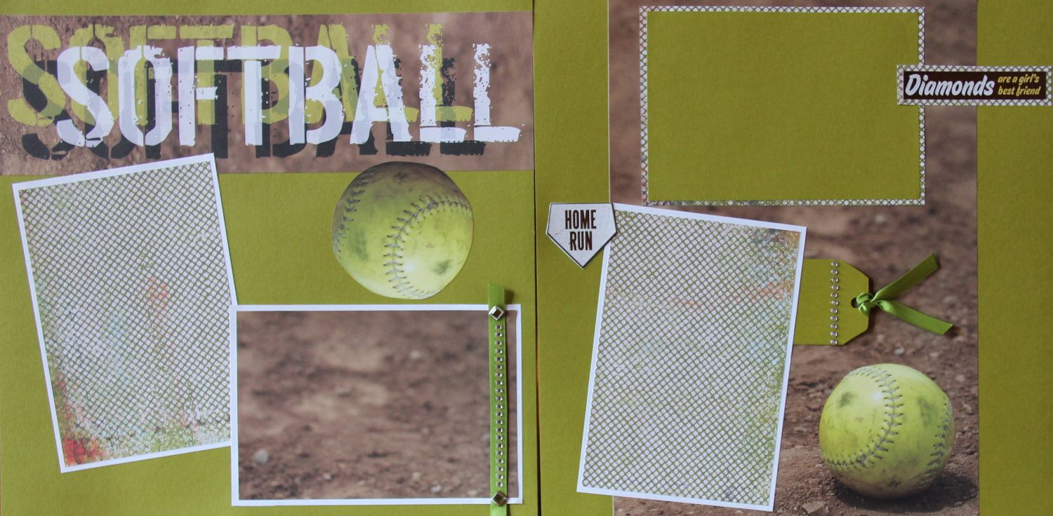 Pin By Beth Woodward On Scrapbook Pages Wedding Scrapbook Pages Scrapbook Room Scrapbooking Sports