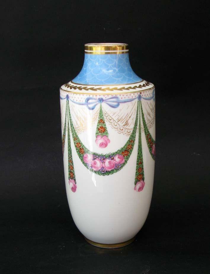 Vase Limoges Art Deco. Porcelaine