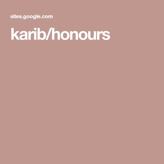 karib/honours This is my portfolio that I made during my honours ...