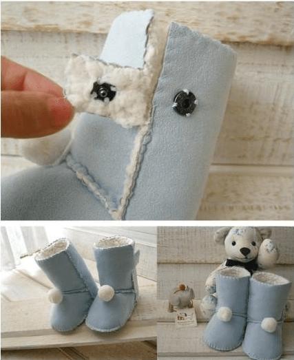 kostenlose anleitung um baby uggs zu n hen hausschuhe pinterest n hen baby und n hen baby. Black Bedroom Furniture Sets. Home Design Ideas