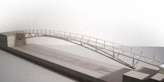 Andreas Schnubel / Structural Design / Footbridge Lyon Confluence