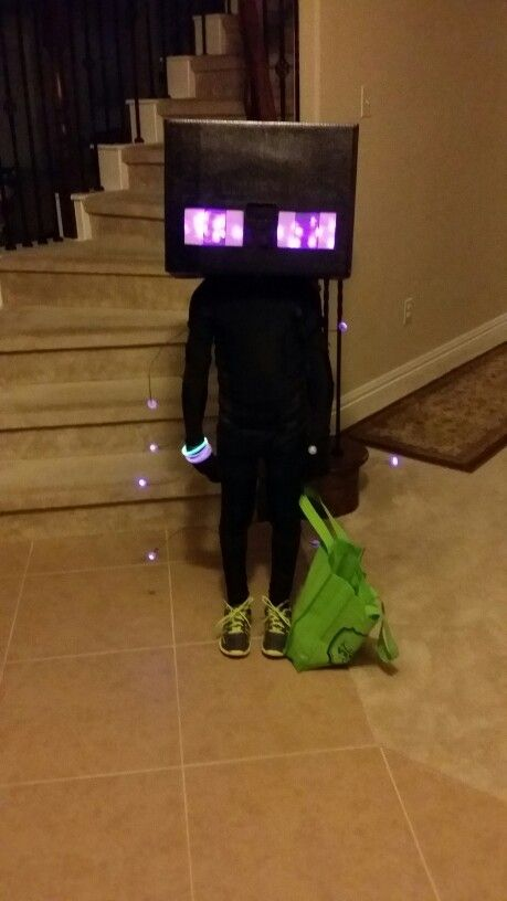 Minecraft Enderman Halloween Costume Diy Crafts That I Love