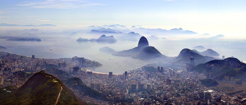 Helicopter View Over Rio De Jenerio Brazil Tour Around The World Brazil Wallpaper Panorama