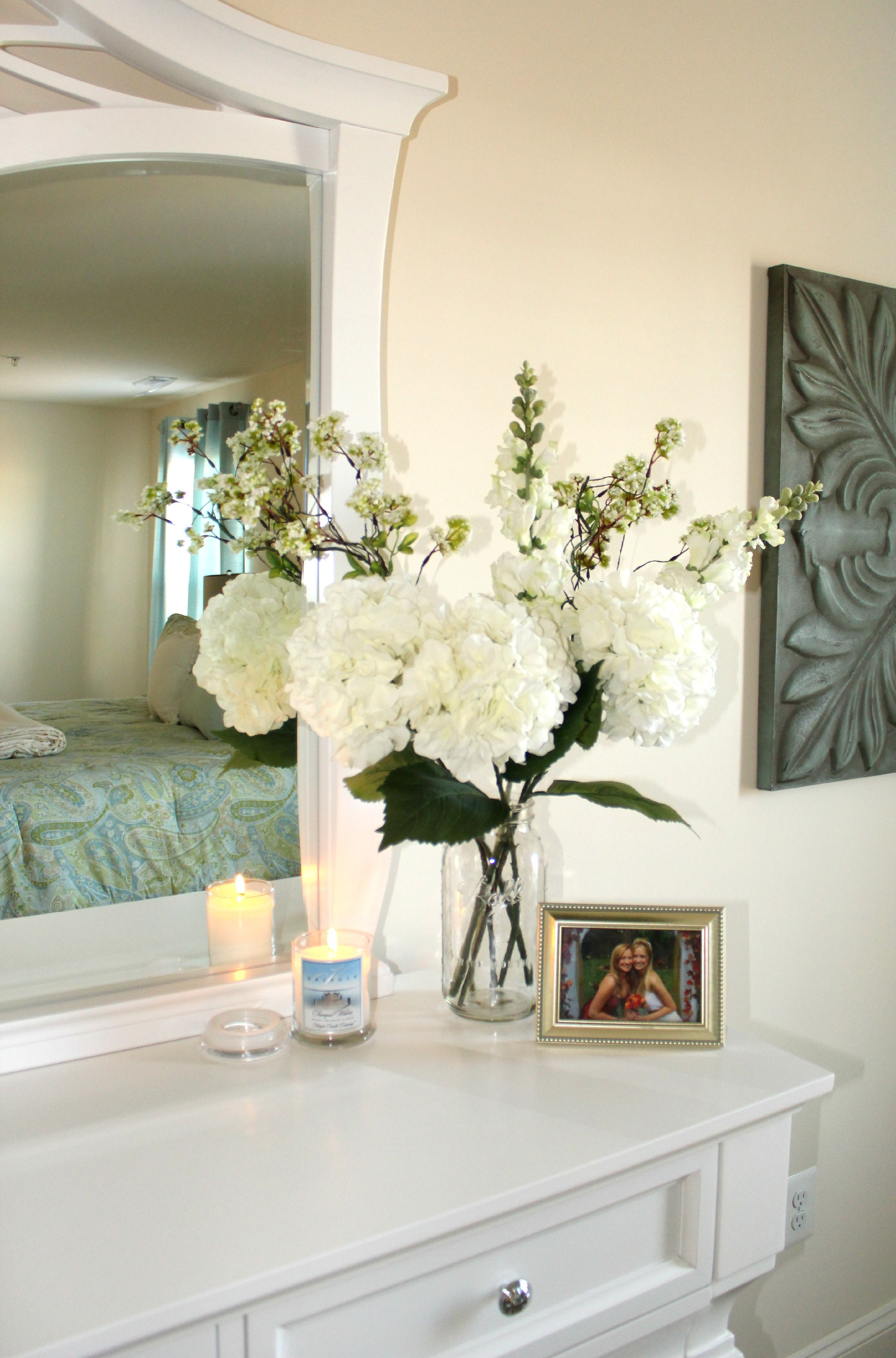 22 Floral Bathroom Designs Decorating Ideas: Master Bedroom Decor- BentleyBlonde House Tour