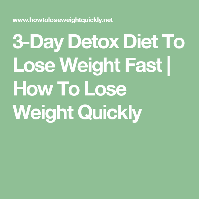 How to lose weight fast at home in 5 days