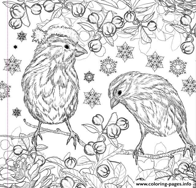 Print christmas design adult coloring pages | Christmas Adults ...