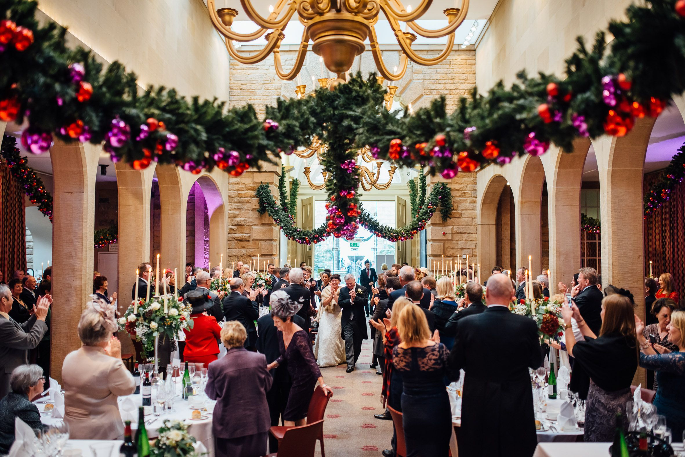 Wedding Chair Covers Derby Plastic Stool Suppliers Chatsworth House Christmas And The Peak