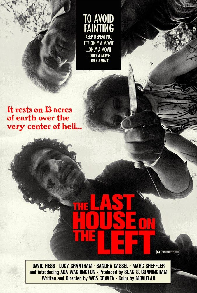 The last house on the left (1972) - Poster | Horror movies ...The Last House On The Left 1972