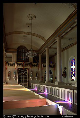 Interior Of The Church Saint Martin De Tours Martinville Louisiana Usa Color Even Prettier In Person