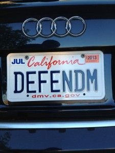 Defend Them Lawyer License Plate Funny License Plates Vanity