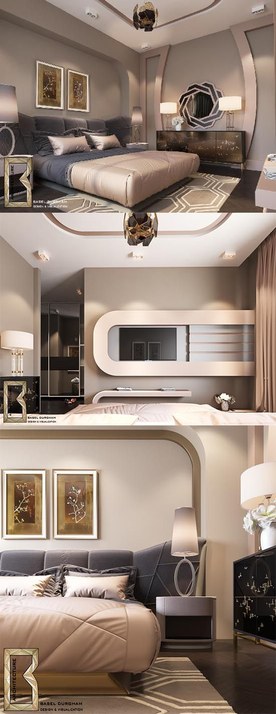 Golden bedroom simple design  models beds pinterest designs and modern also rh