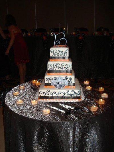 Harley Davidson Wedding Cakes | Wedding and Reception Ideas for ...
