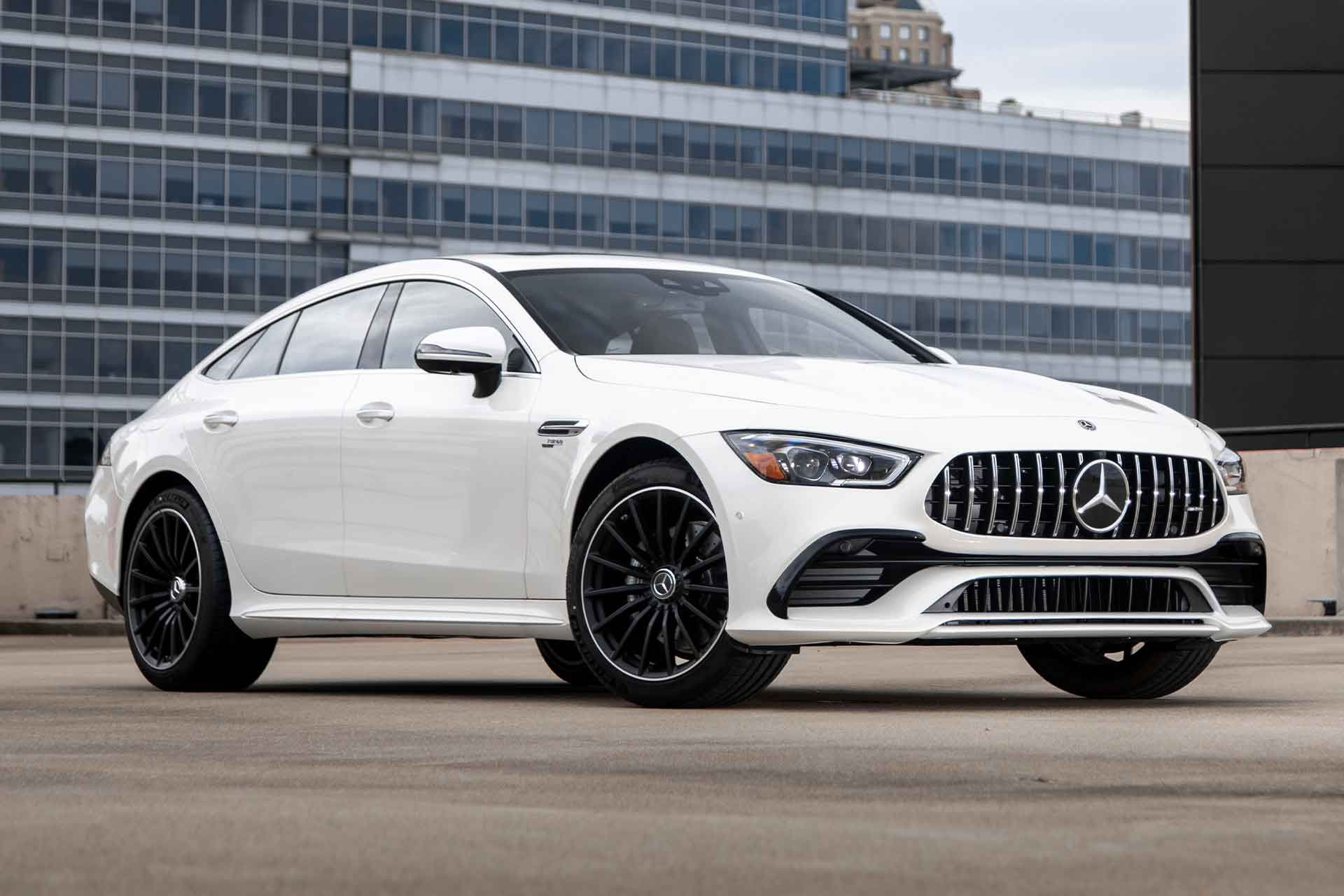 2021 Mercedes Amg Gt 43 4 Door Coupe In 2020 Mercedes Amg Amg Mercedes Car