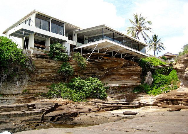 Amazing House, Perched on Volcanic Rock by alison✿, via Flickr