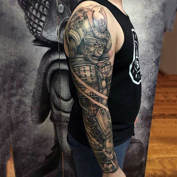 100 japanese samurai mask tattoo designs for men tattoo. Black Bedroom Furniture Sets. Home Design Ideas