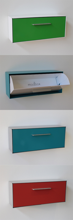 New Wall Mounted Modbox Design The Kickstarter Should Launch By Friday Of This Week Or Early Next Week Modern Mailbox Modern Mailbox Design Mailbox Design