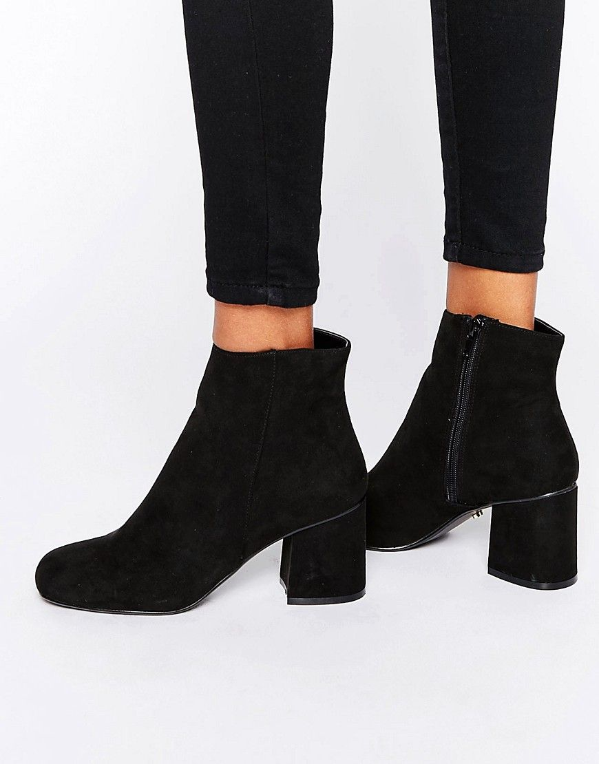 aa3cad5b45e7 Oasis Block Heel Boots | HOW TO WEAR BLACK BOOTS INSPO in 2019 ...