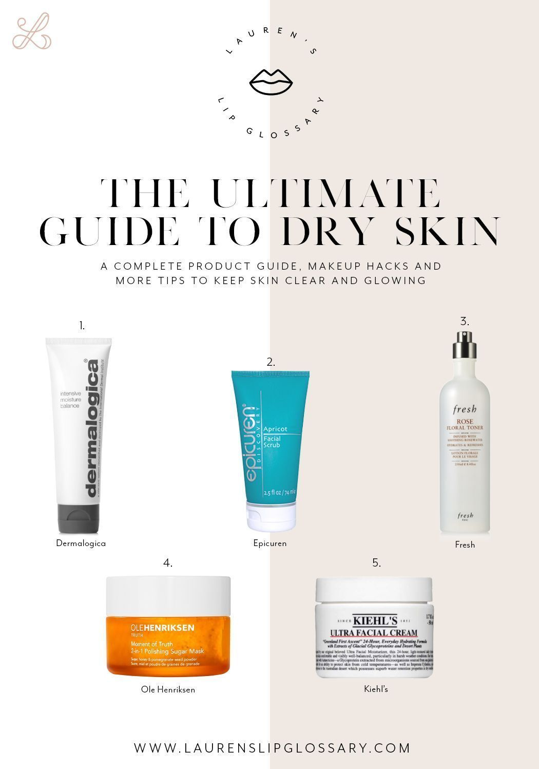 Everything You Need To Know About Dry Skin What Products To Use How To Ensure Your Makeup Looks Flawless What P In 2020 Skin Care Blackheads Dry Skin Care Skin Care
