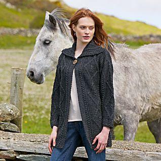 Irish Sweater Jacket   Irish sweaters, Closet collection and Clothes