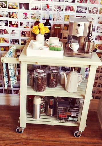 Baking Station, Tea And Coffee Station, Extra Cupboard Space, Etc. 10 Smart  Kitchen Storage Solutions For Renters.