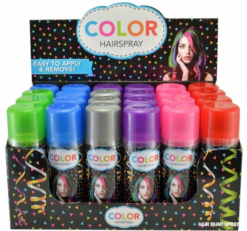 Hair Paint Spray in 2020 Hair color spray, Temporary
