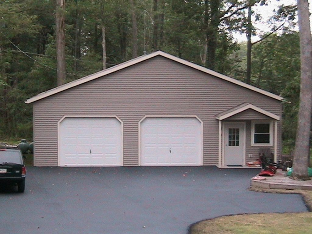 amish car double backyard prefabricated garages made wide garage