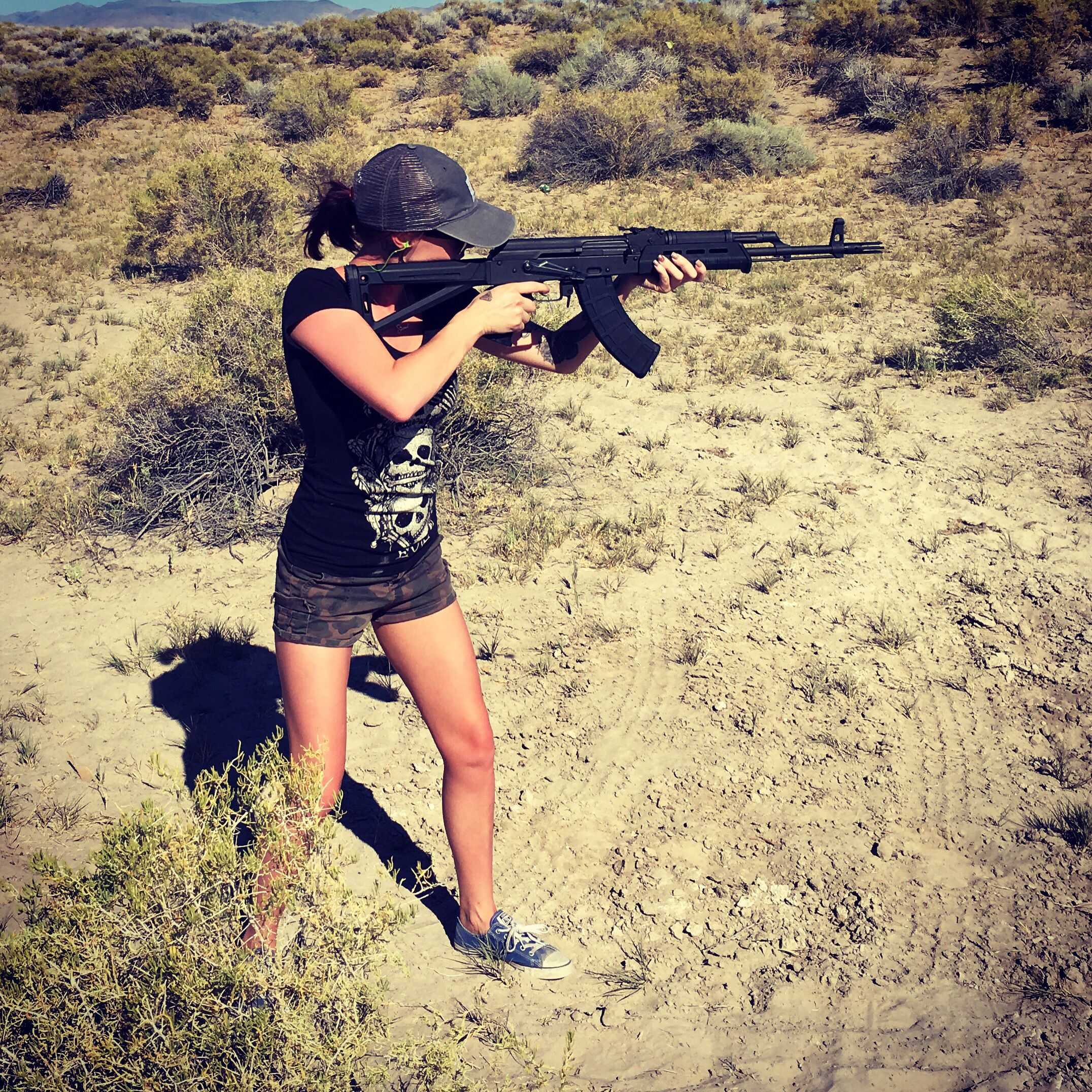 Girl AK-47 and. - YouTube