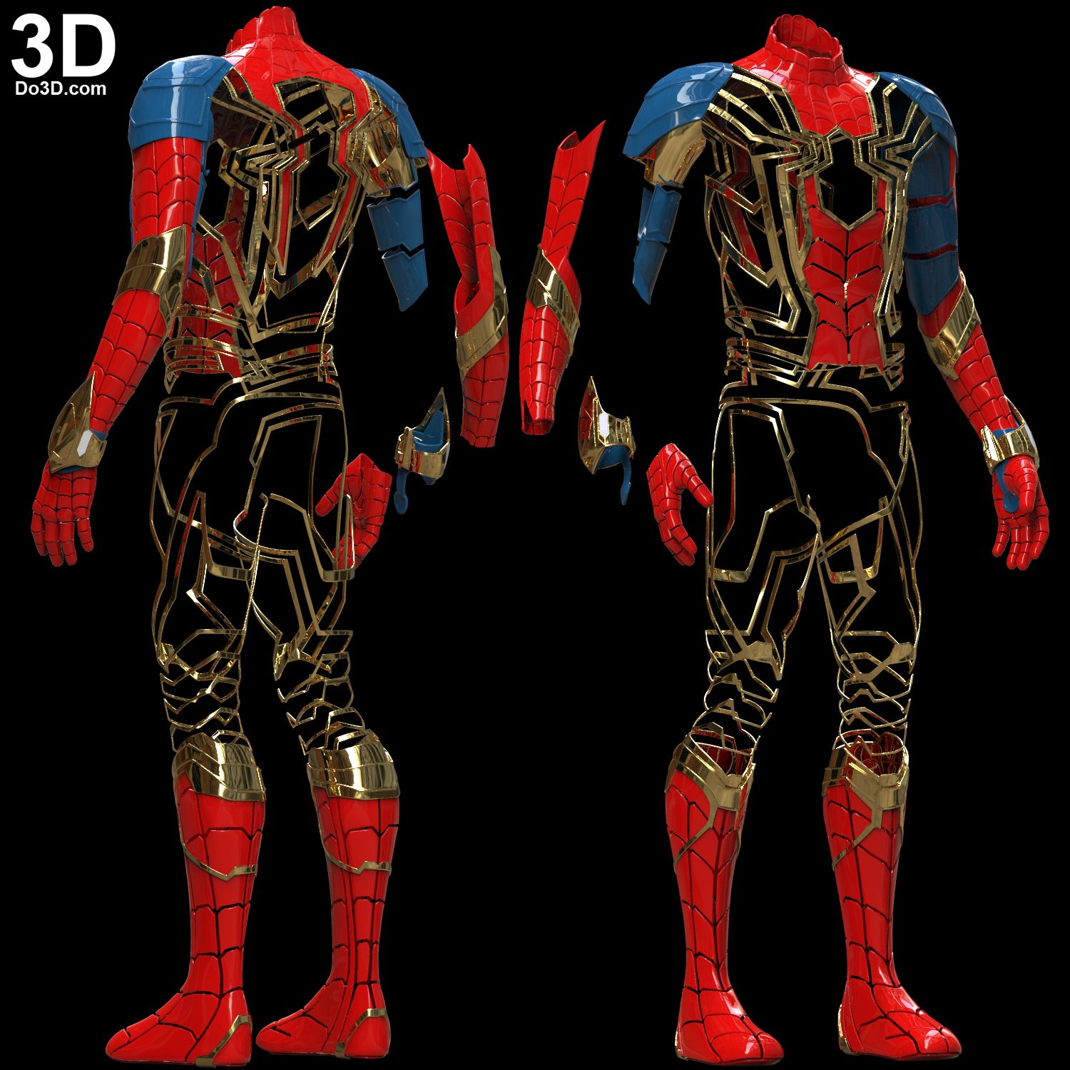 3d Printable Model Iron Spider Man Infinity War Full Body Armor