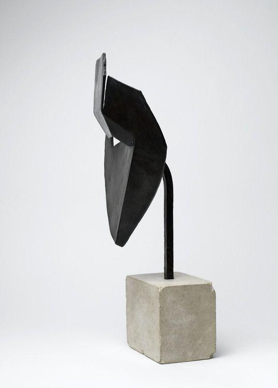 Tête aiguë - Masque aigu (Julio González circa 1930 - 1960, Centre Georges Pompidou, Parigi)