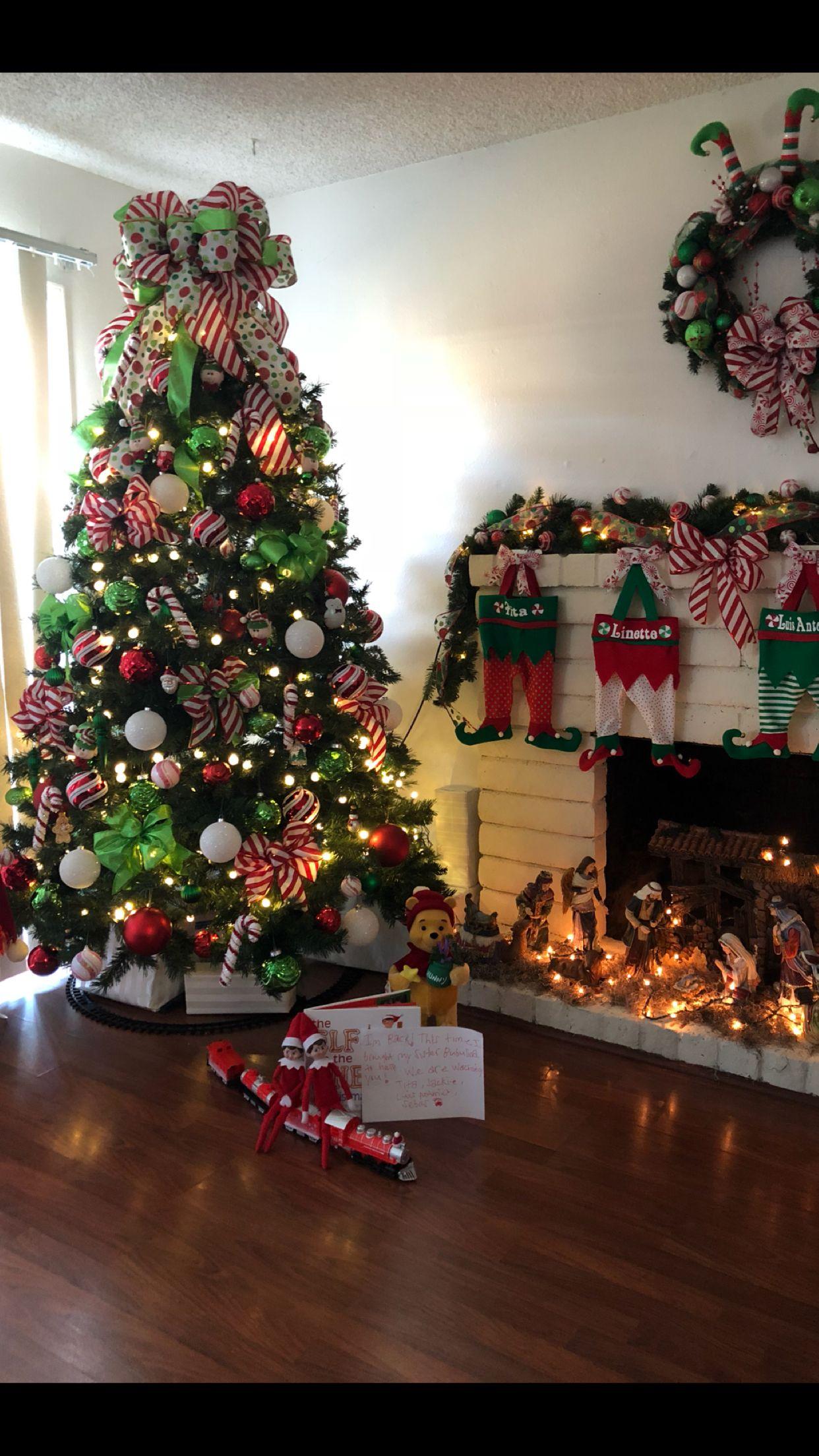 Elf Christmas tree | Elf christmas tree, Christmas tree ...