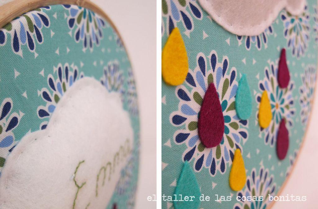 decorar con bastidores, bastidor tela | Craft & Handmade | Pinterest ...