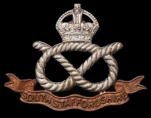 Staffordshire Regiment Lapel Badge