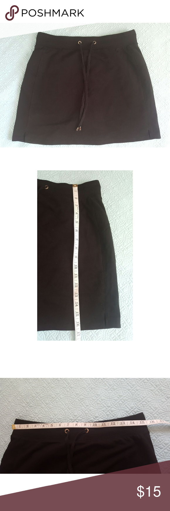 Green tea skirt size Large Soft and comfortable skirt in good condition green tea Skirts