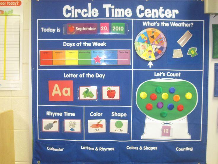 Circle Time Calendar Printables : Encontrado en google pinterest asamblea