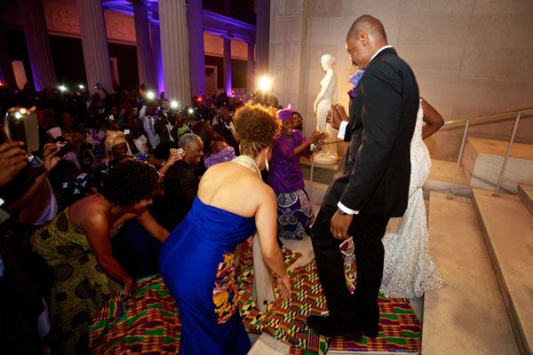 British-Ghanaian and Liberian-American Multicultural Wedding in DC - Chantal and Robert - Munaluchi Bridal Magazine