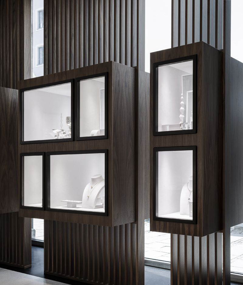 georg jensen munich georg jensen s newest store in. Black Bedroom Furniture Sets. Home Design Ideas