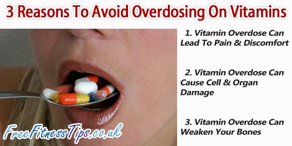 3 Reasons To Avoid Overdosing on Vitamins   Kidney health   Over