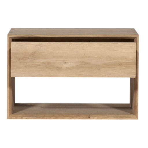 Nordic Nightstand In 2020 Oak Bedside Tables Bedside Table Nordic Elegant Bedside Tables