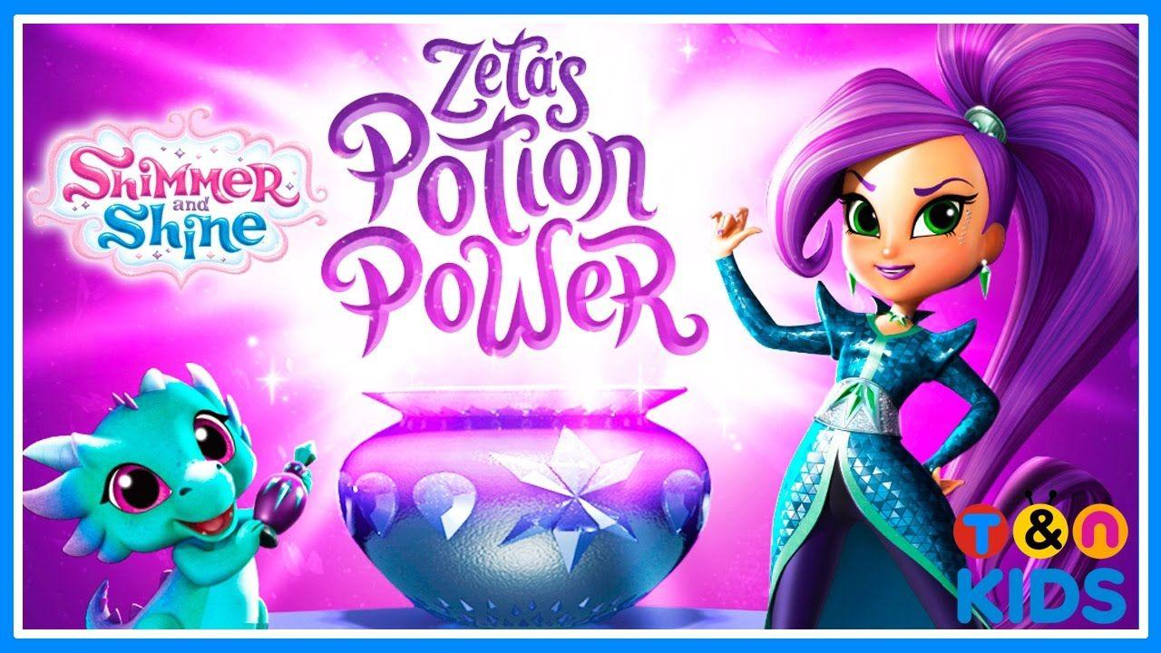 Shimmer and Shine Zeta Potion Power. Game For Kids